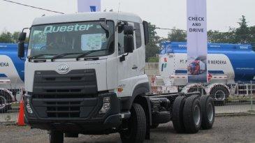 Resmi Punya Dealer 3S, UD Trucks Pelembang Ajak Pengusaha Jajal Truck Quester