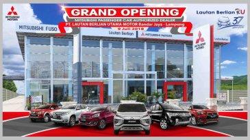 Dongkrak Penjualan Xpander CS, MMKSI Resmikan Dealer Mitsubishi Ke-117 di Lampung