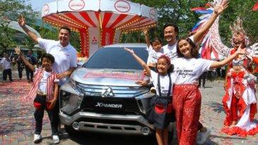 Xpander Tons of Real Happiness Hadirkan Karnaval untuk Keluarga Indonesia