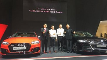GIIAS 2018: The New Audi A8 L dan The New Audi RS 5 Coupe Resmi Diperkenalkan Di GIIAS 2018