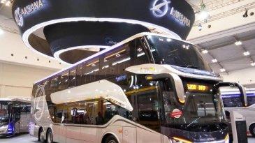 GIIAS 2018: Legacy SR2 Double Decker, Bus Tingkat Paling Keren Se-Indonesia