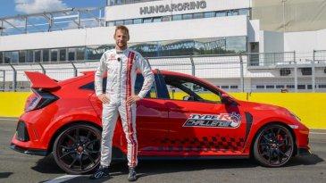 Jenson Button Cetak Rekor Balap Terakhir Honda Dalam Civic Type R Challenge 2018