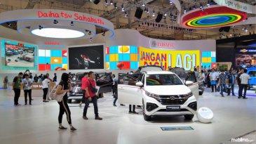 Penjualan Di GIIAS 2018 Menurun, Daihatsu Terobati Dengan Dua Penghargaan Terbaik