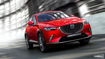Review New Mazda CX-3 2018