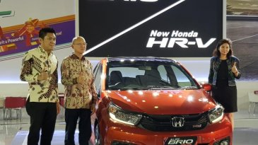 All New Honda Brio Tampil Di GIIAS Makassar 2018
