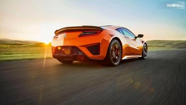 Debut Perdana Acura NSX 2019 Dimulai di Monterey Car Week California