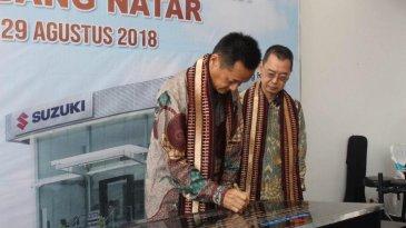 Dekatkan Diri Dengan Konsumen, Diler ke-326 Suzuki Hadir di Lampung Selatan
