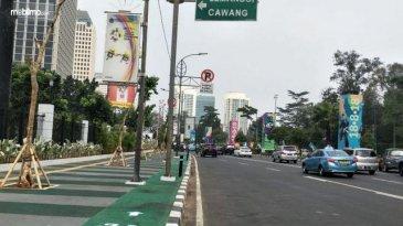 Kepolisian Jelaskan Rekayasa Lalu Lintas Jelang Penutupan Asian Games 2018