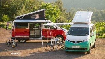 Siap Liburan Kemana Saja dengan Nissan Evalia Versi Camper Van