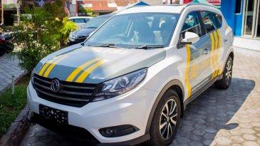 Peduli Palu, DFSK Sumbang Glory 580 Buat Jadi Mobil Polisi
