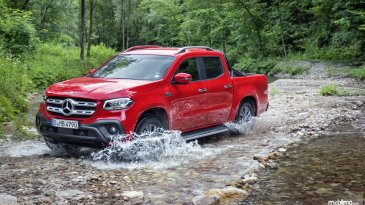 Review Mercedes-Benz X-Class 2019
