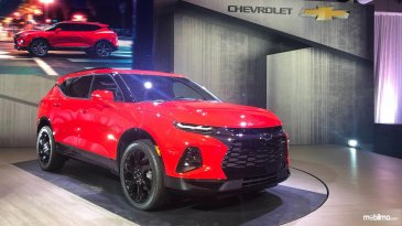 Review Chevrolet Blazer 2019