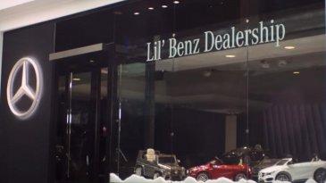 Mobil Mini di 'Dealer Lil Benz' Cocok untuk Hadiah Natal Anak Anda