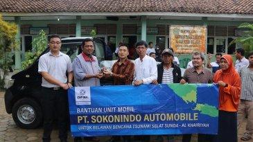 Lagi, DFSK Indonesia Donasikan Mobil Buat Penanganan Bencana