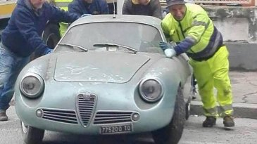 35 Tahun Tak Dipakai, Alfa Romeo Ini Laku 9 Miliar