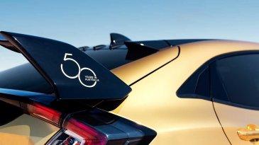 Ulang Tahun Ke 50, Honda Pamer Civic Type R Berbalut Emas