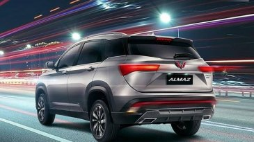 Review Wuling Almaz 1.5 Turbo CVT 2019