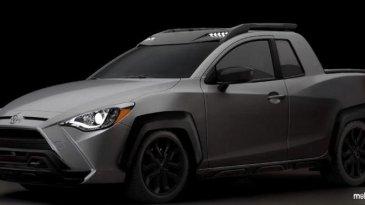 Keren, Ini Dia Gambar Render Yaris Pick Up Yang Baru Saja Dirilis Toyota