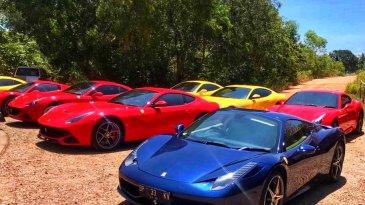 Ferrari Owners Club Indonesia Resmi Buka Cabang di Kota Batam