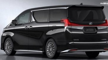 Mobil Baru Lagi, Mobil MPV Mewah Lexus Telah Diperkenalkan