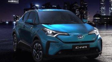 Preview Toyota C-HR EV 2020: Mobil Masa Depan Dengan Full Electric