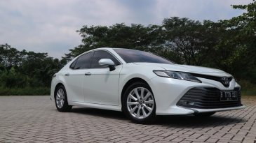 Review Dan Test Drive All New Toyota Camry 2.5 V AT 2019