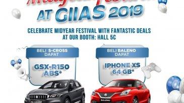 Dongkrak Penjualan, Ini Beragam Promo Suzuki di GIIAS 2019