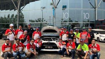 TOSCA Ajak Rekan Komunitas Mobil Toyota Kulik dan Rawat Mesin Mobil