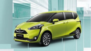Meluncur Di Thailand, Inilah Harga Dan Spesifikasi Toyota Sienta Facelift 2019