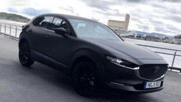 Akhirnya Mobil Listrik Perdana Mazda Tertangkap Kamera Saat Uji Di Jalan