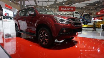 Review Isuzu MU-X 2019 Indonesia
