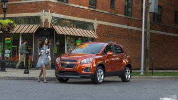 Review Chevrolet Trax 2015