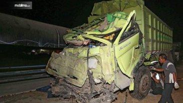 Dua Truk Sama-Sama Rem Blong di Kecelakaan Tol Cipularang, Ini Penyebabnya