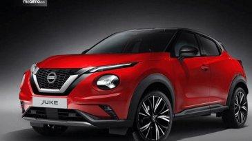 Dimensi Lebih Besar Nissan Juke Generasi Terbaru Makin Sporty Dengan V-Motion Grille