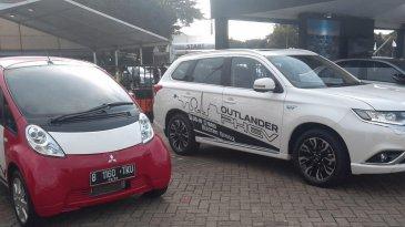 Kemunculan Mobil Listrik Mitsubishi IMiEV, Baterai 50% Dapat Melaju 40,7 km