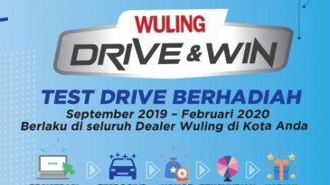 Wuling Gelar 'Drive & Win', Test Drive Gratis Berhadiah 9 Mobil
