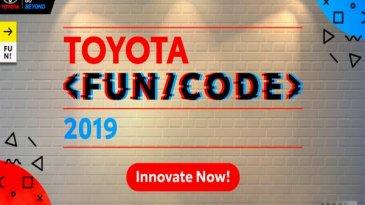 Program Toyota Fun/Code, Jagoan IT Dirangkul Untuk Kembangkan Aplikasi Otomotif