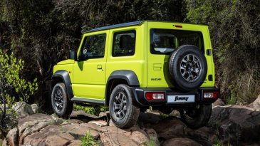 Review Suzuki Jimny AT (Two Tone) 2019