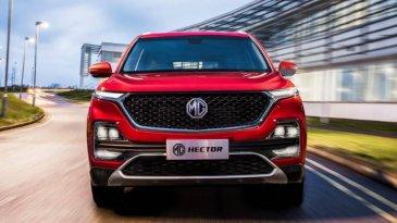 Kembar, Penjualan MG Hector Lebih Meledak Ketimbang Almaz