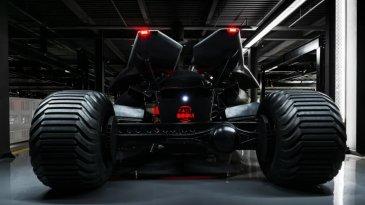 Wow, Replika Batmobile Dijual Rp 13 Miliar, Apa Kehebatannya?
