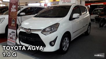 Review Toyota Agya 1.0 G M/T Facelift 2017