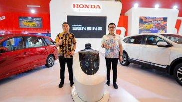 IIMS Surabaya 2019; Pengunjung Bisa Coba Simulator Honda Sensing