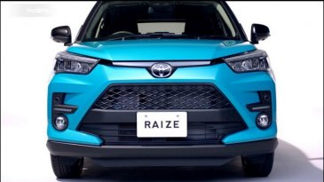 Yuk Kenalan Sama Toyota Raize, Kembaran Daihatsu Rocky Yang Bakal Segera Hadir