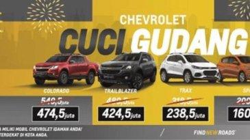 Ikuti Program Cuci Gudang Chevrolet, Ada Diskon Besar-Besaran Lho