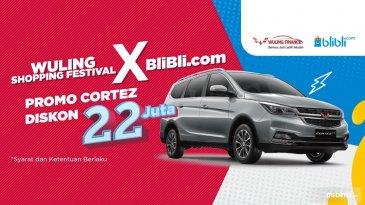 Shopping Festival X Blibli.com, Beli Wuling Cortez Turbo Diskon Rp 22 Juta