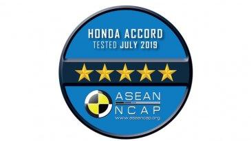 Sempurna, All New Honda Accord Dapat Bintang 5 Dari ASEAN NCAP