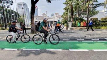 Hati-Hati, Mulai Hari Ini Ada Sanksi Jika Jadi Penerobos Jalur Sepeda