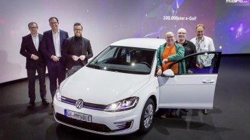 Dapat Unit ke 100.000, Pembeli VW e-Golf Dihadiahi Bonus Eksklusif