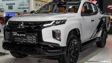 Baru Diluncurkan DI Thailand Motor Expo, Ini Spesifikasi Mitsubishi Triton Athlete Terbaru