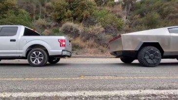 Tidak Terima Cybertruck Kalahkan F-150, Ford Tantang Tesla Tanding Ulang